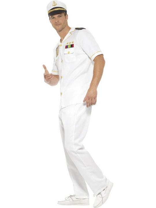 Captain Men's Fancy Dress Costume Thumbnail 3