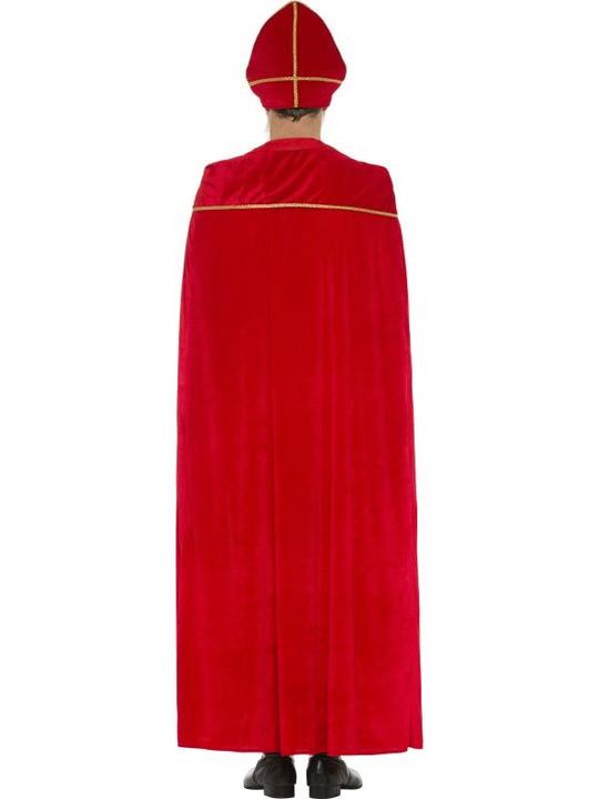 Deluxe Saint Nicholas Men's Fancy Dress Costume Thumbnail 2
