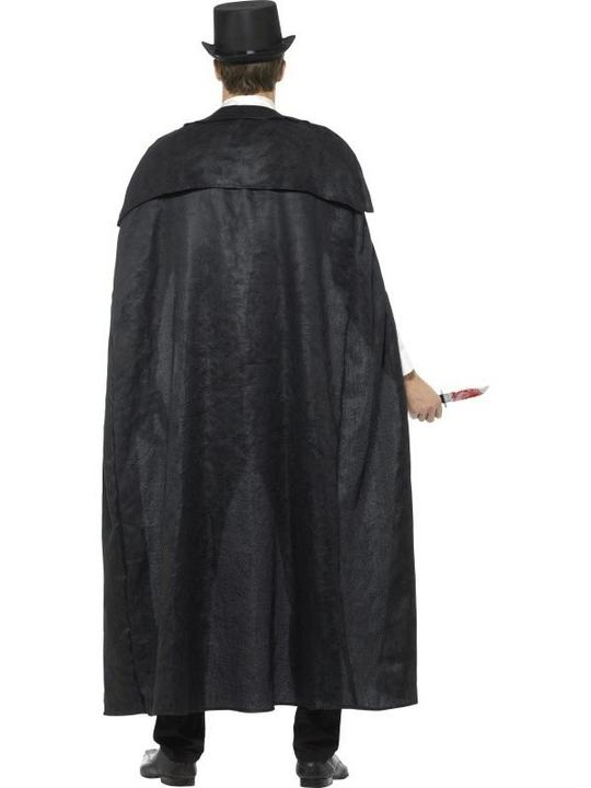 Deluxe Victorian Jack The Ripper Men's Fancy Dress Costume Thumbnail 2