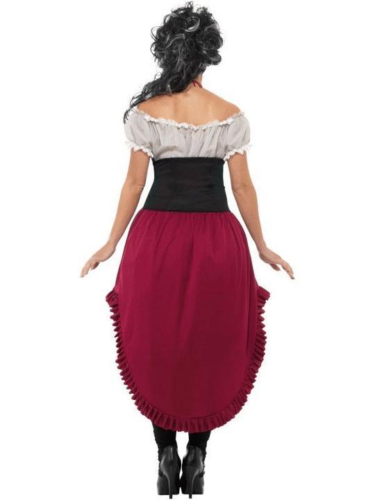 Victorian Slasher Victim Women's Fancy Dress Costume Thumbnail 2