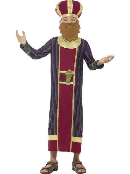 King Balthazar Boy's fancy Dress Costume Thumbnail 1