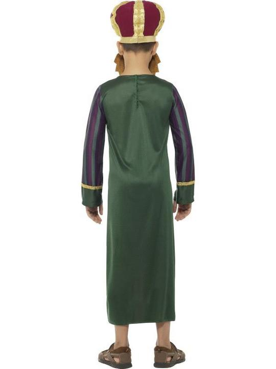 King Balthazar Boy's fancy Dress Costume Thumbnail 2