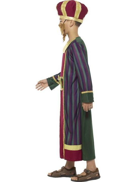 King Balthazar Boy's fancy Dress Costume Thumbnail 3