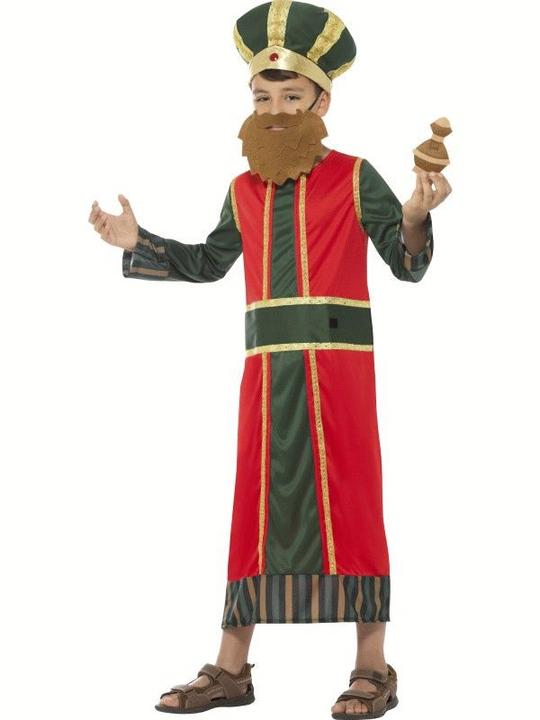 King Gaspar boy's Fanxy Dress Costume Thumbnail 3