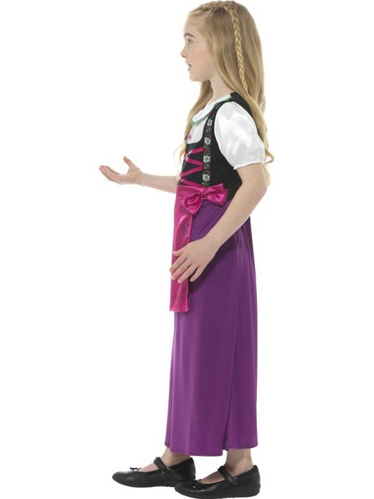 Bavarian Princess Girl's Fancy Dress Costume Thumbnail 4