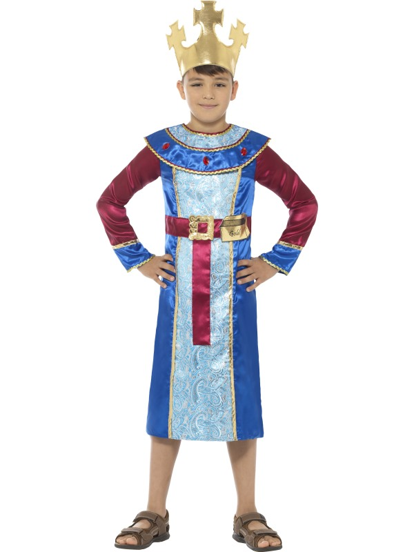 King Melchior Boy's Fancy Dress Costume