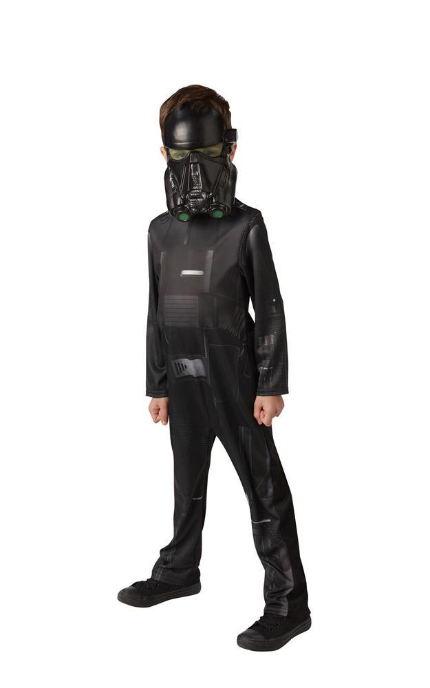 Death Trooper Star Wars  Classic Boy's Fancy Dress Costume