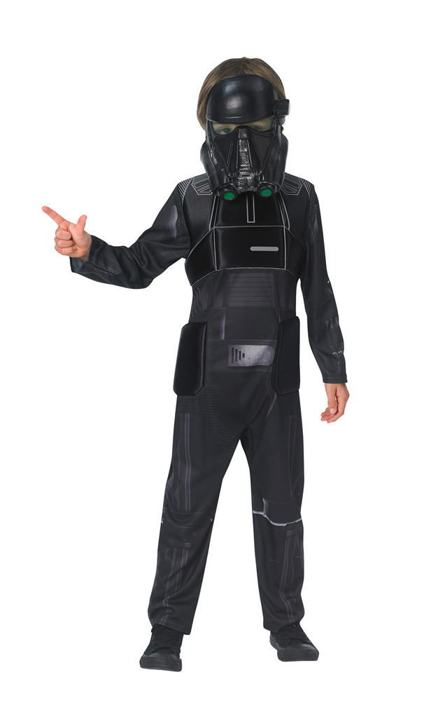 Death Trooper Star Wars Boys Fancy Dress Costume