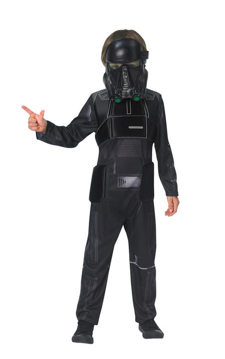 Death Trooper Star Wars Boys Fancy Dress Costume Thumbnail 1