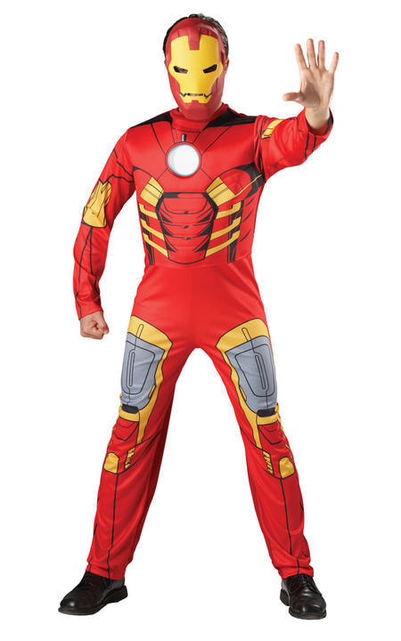 Ironman Marvel Deluxe Fancy Dress Costume Thumbnail 1