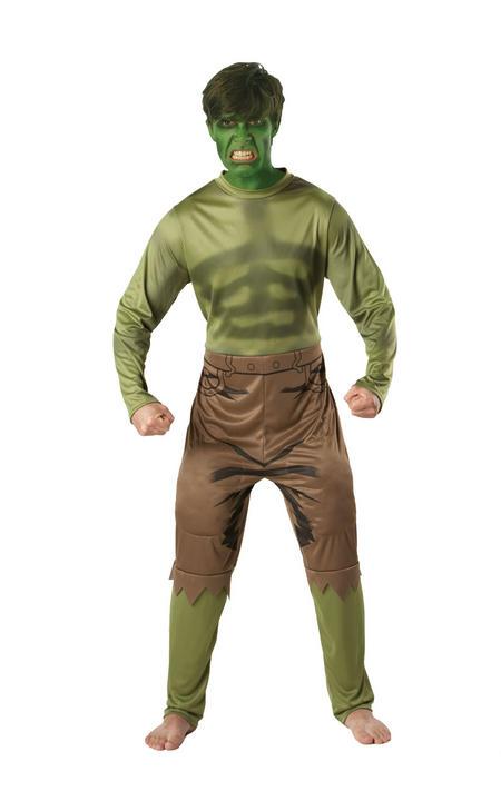 Hulk Marvel Men's Fancy Dress Costume Thumbnail 1