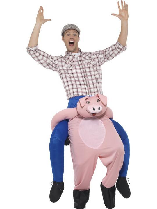 Piggyback Pig Costume Thumbnail 1