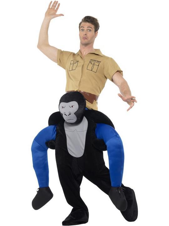 Piggyback Gorilla Costume Thumbnail 1