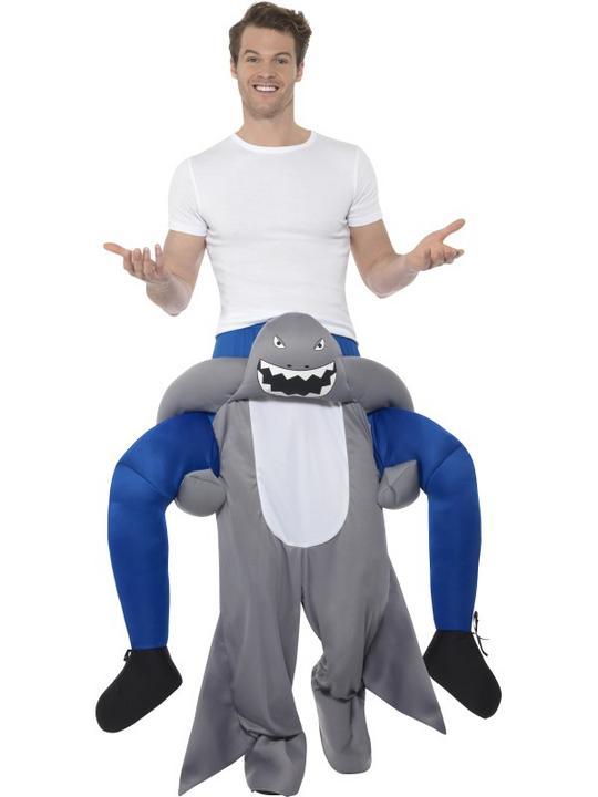 Piggyback Shark Costume Thumbnail 1