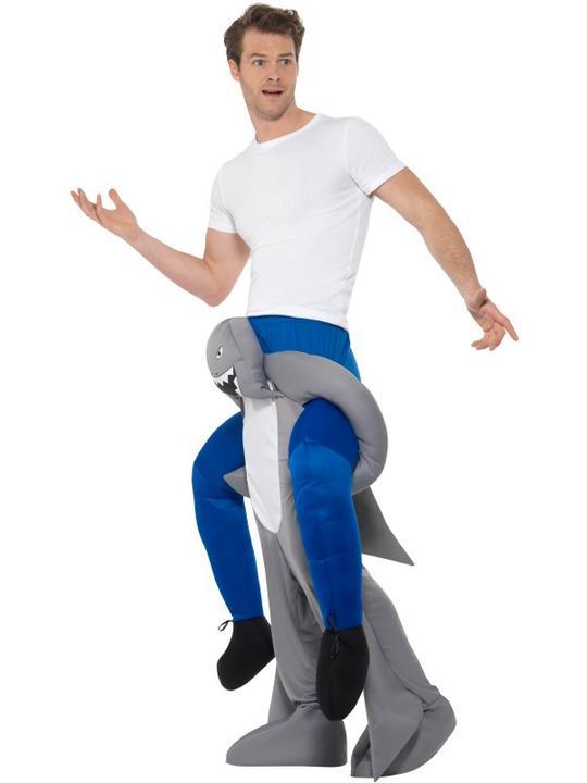 Piggyback Shark Costume Thumbnail 2