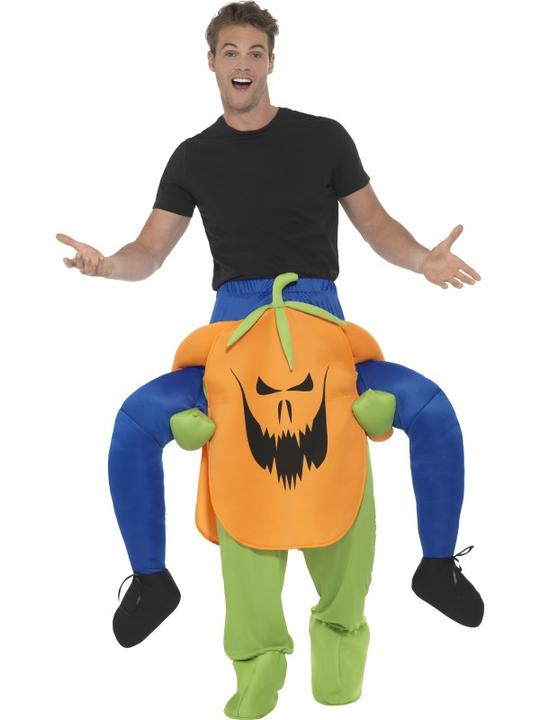 Piggyback Pumpkin Costume Thumbnail 1
