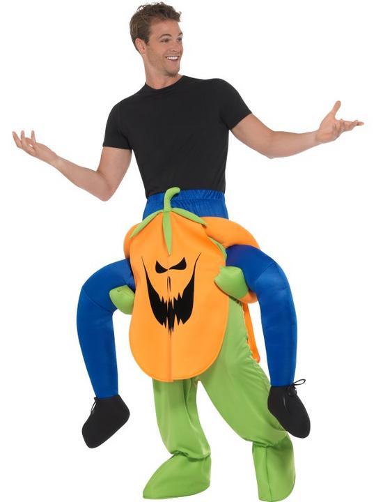 Piggyback Pumpkin Costume Thumbnail 3