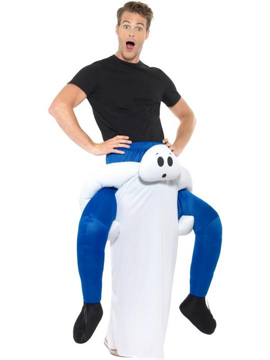 Piggyback Ghost Costume Thumbnail 2