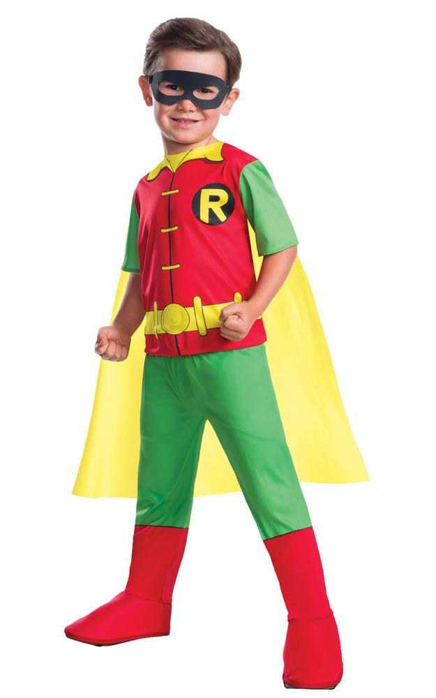 Robin Marvel Boy's Fancy Dress Costume