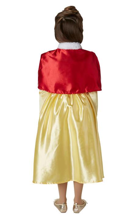 Belle Winter Disney Girl's Fancy Dress Costume Thumbnail 3