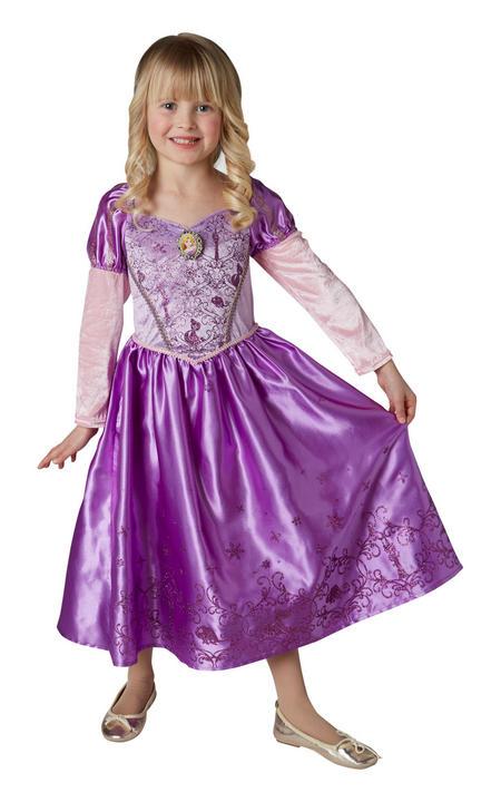 Rapunzel Winter Disney Girl's Fancy Dress Costume Thumbnail 2