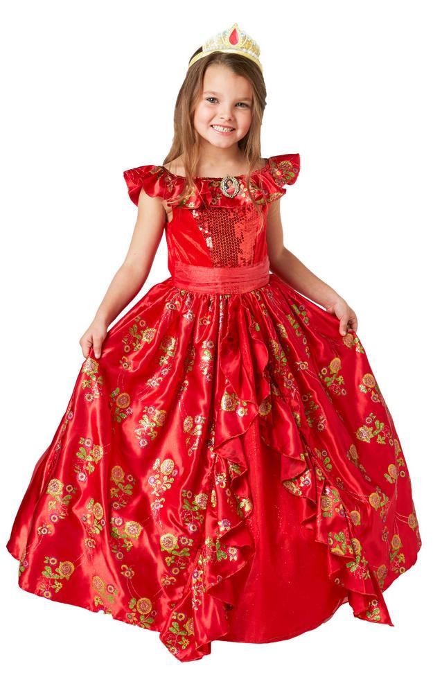 Elena of Avalor Disney deluxe Girl's Fancy Dress Costume