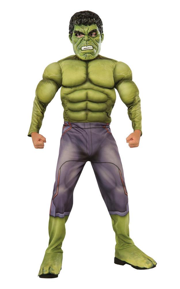 Hulk Deluxe Boy's Fancy Dress Costume