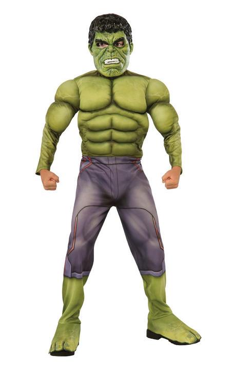 Hulk Deluxe Boy's Fancy Dress Costume Thumbnail 1