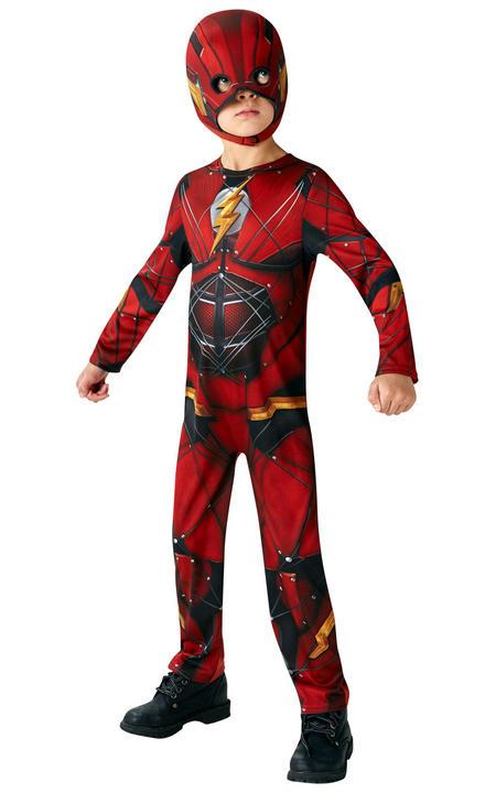 The Flash Justice League Boy's Fancy Dress Costume Thumbnail 3