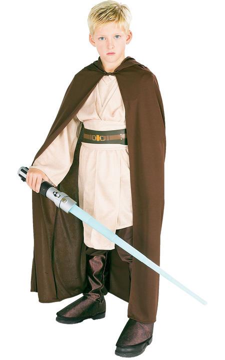Jedi Robe/ Cloak Disney Star Wars Boy's Fancy Dress Thumbnail 1