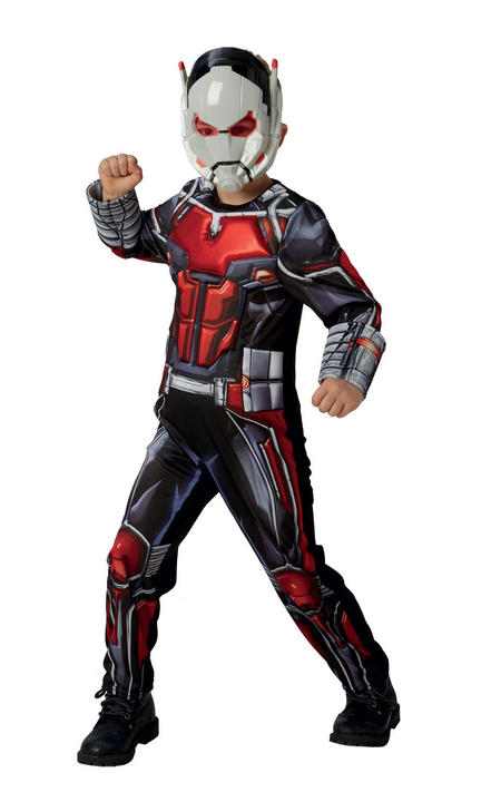 Ant-Man Deluxe Marvel Boy's Fancy Dress Thumbnail 1