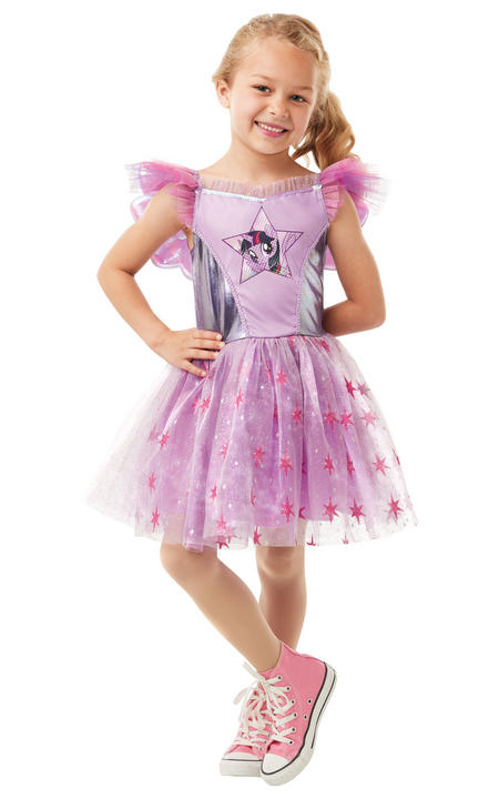 Twilight Sparkle My Little Pony Girl's Fancy Dress Costume Thumbnail 1