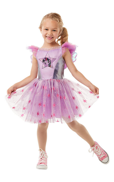 Twilight Sparkle My Little Pony Girl's Fancy Dress Costume Thumbnail 2