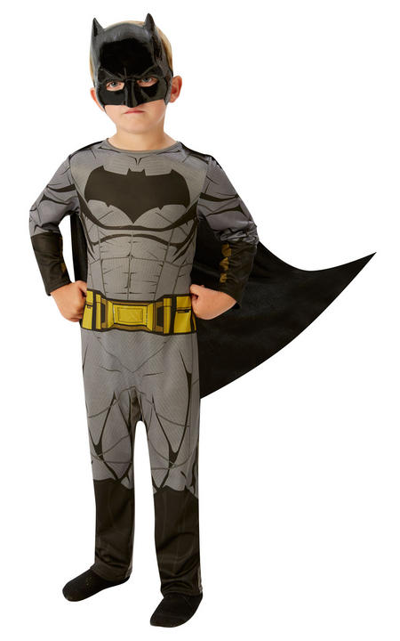 Batman Justice Leaguel Boy's Fancy Dress Costume Thumbnail 1