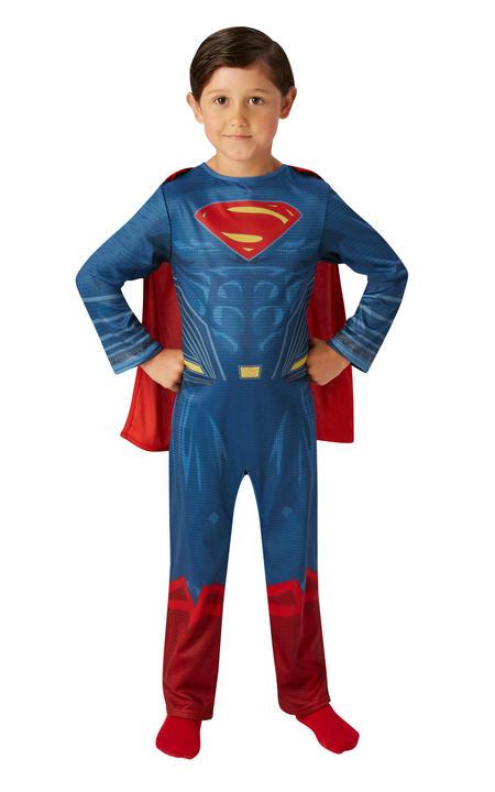 Superman Marvel Justice League Boy's Fancy Dress Thumbnail 1
