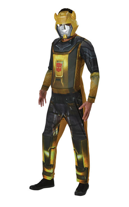 Bumble Bee Tansformers Men's Fancy Dress Costume Thumbnail 1
