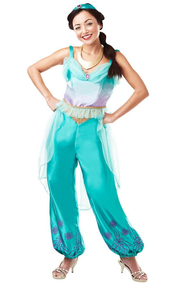 Jasmine Disney Women's Fancy Dress Costume