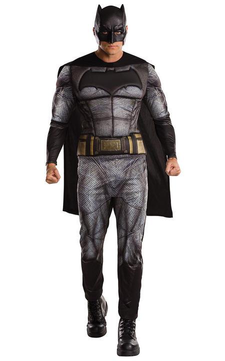 Adult Mens Justice League Batman Fancy Dress Costume Thumbnail 1