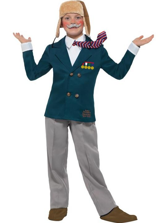 Boys Grandpas Great Escape Costume Kids David Walliams School Book Week Dress Thumbnail 1