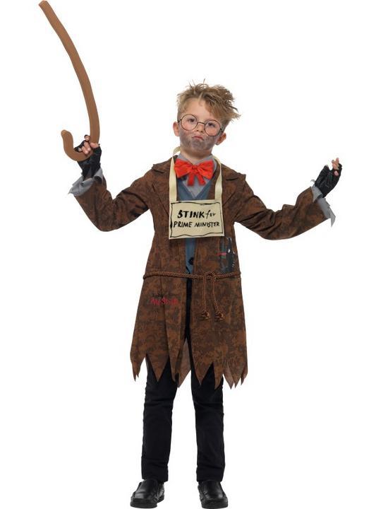 David Walliams Deluxe Mr Stink Boy's Fancy Dress Costume Thumbnail 2