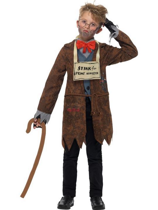 David Walliams Deluxe Mr Stink Boy's Fancy Dress Costume Thumbnail 3