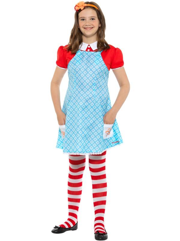 Girls Anne famous five costume kids school book week fancy dress enid blyton