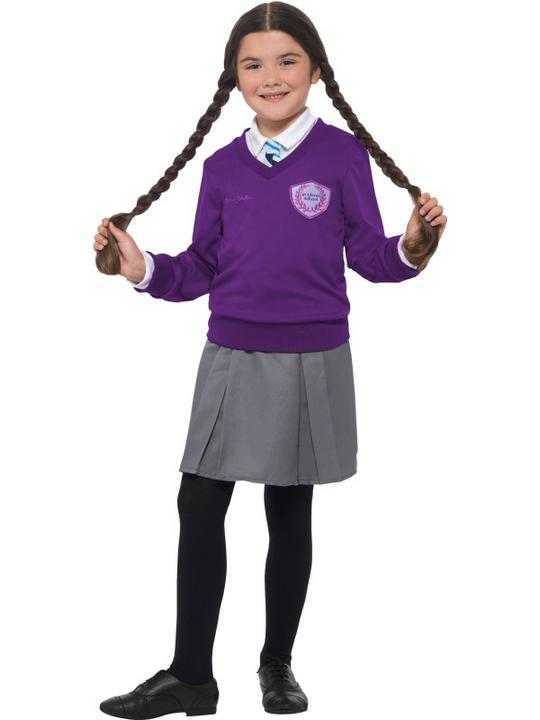 Girls St Clares costume kids enid blyton school book week fancy dress outfit Thumbnail 1