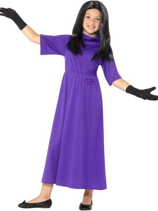 Roald Dahl Deluxe The Witches Women's Fancy Dress Costume Thumbnail 4