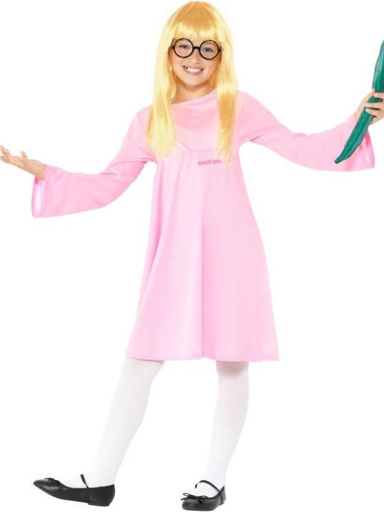 Roald Dahl Deluxe Sophie Girl's Fancy Dress Costume Thumbnail 1