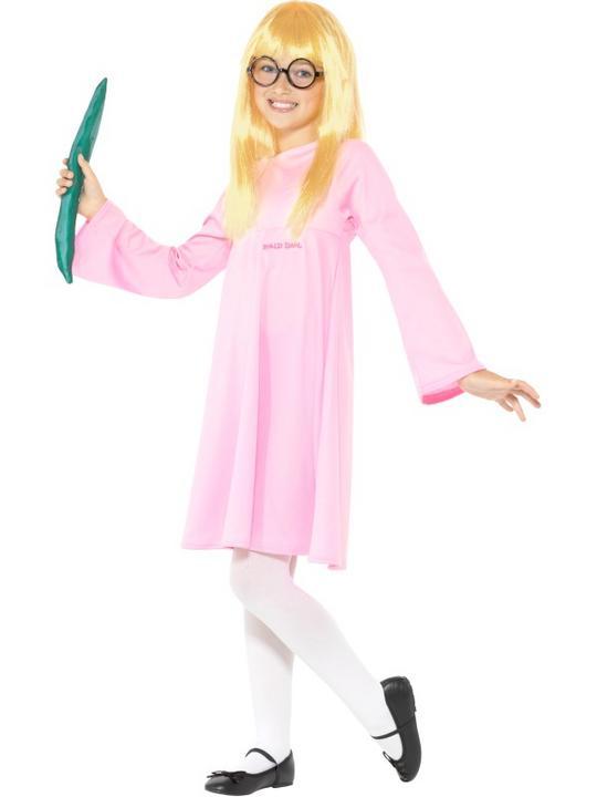 Roald Dahl Deluxe Sophie Girl's Fancy Dress Costume Thumbnail 2