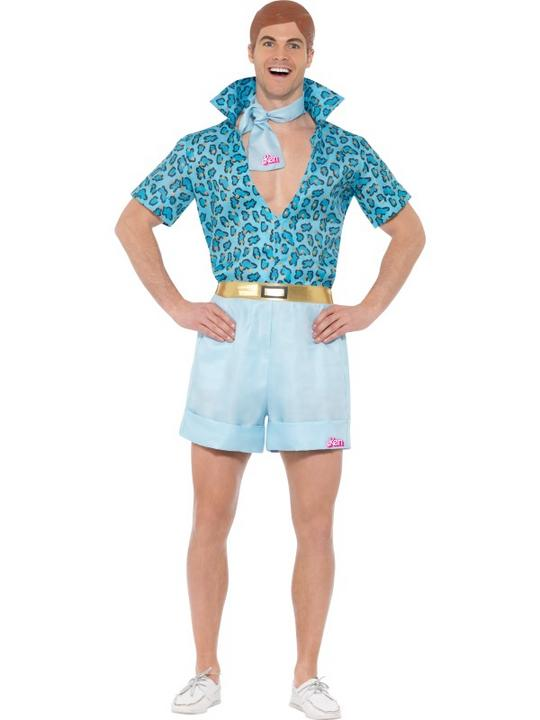Barbie Safari Ken Men's Fancy Dress Costume Thumbnail 1