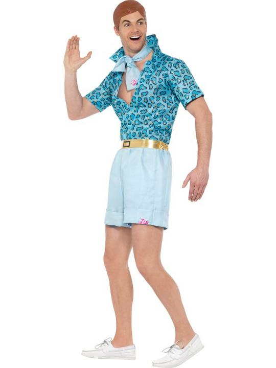 Barbie Safari Ken Men's Fancy Dress Costume Thumbnail 3