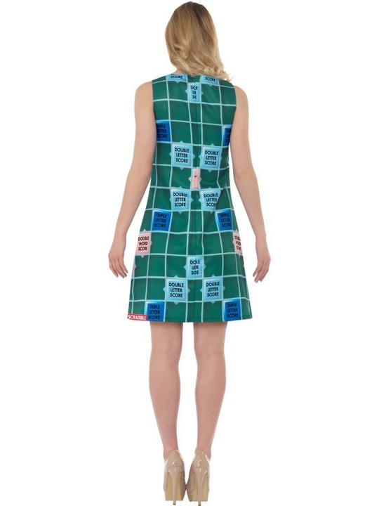 Scrabble Women's Fancy Dress Costume Thumbnail 3