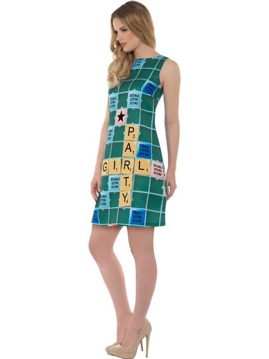 Scrabble Women's Fancy Dress Costume Thumbnail 4